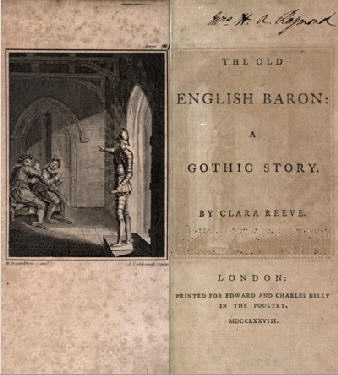 The Old English Baron | A Course Of Steady Reading